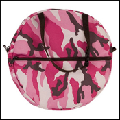 Nylon Rope Bag Pink Camo - Youth 12""