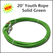 Youth rope little looper green